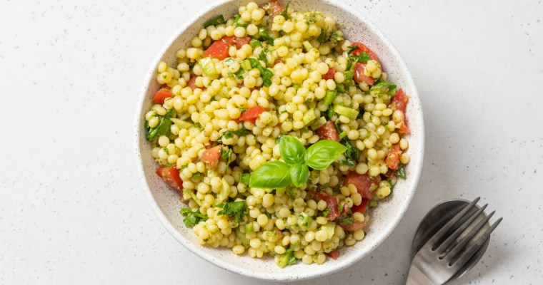 TOASTED ISRAELI COUSCOUS SALAD