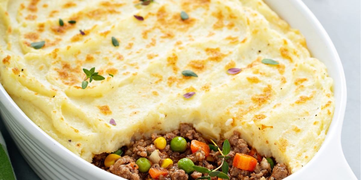 COMFORTING SHEPHERD'S PIE