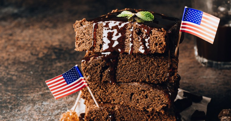 DECADENT CAKE-LIKE BROWNIES