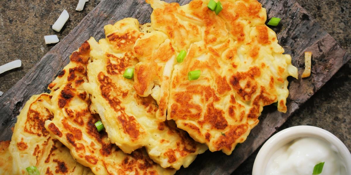 IRISH BOXTY (aka:  Irish potato pancakes)