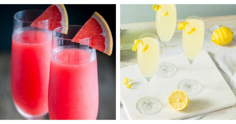 2 EASTER BRUNCH COCKTAILS