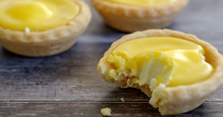 SUNNY LEMON CHEESE TARTLETS