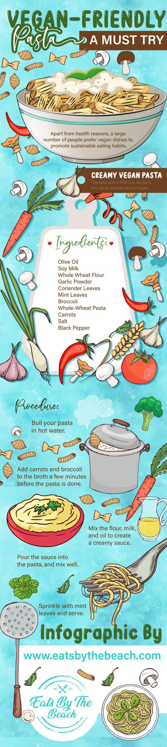 Vegan friend pasta - a must try