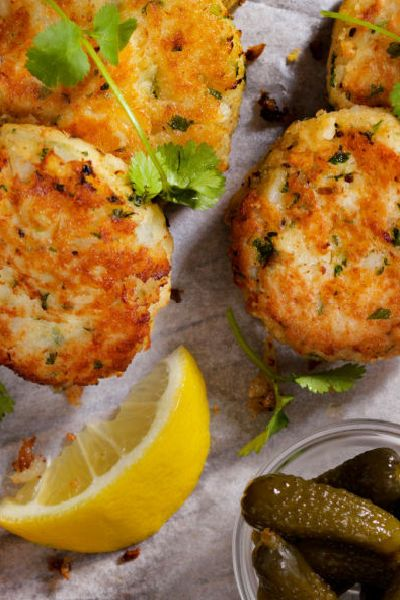 TAVERN ON THE GREEN CRAB CAKES