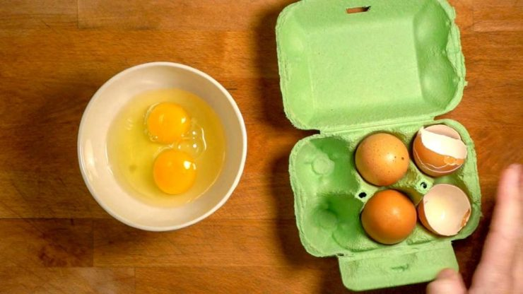 Egg and Salmon Egg Rice Bowl Recipe Scrambled Eggs