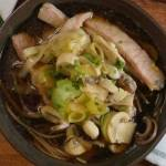 Japanese Pork Soba Noodle Soup Image