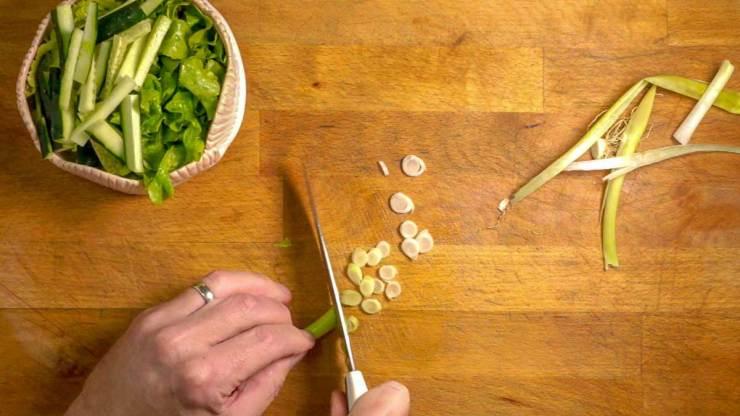 Salty Ginger Pork Recipe Salad