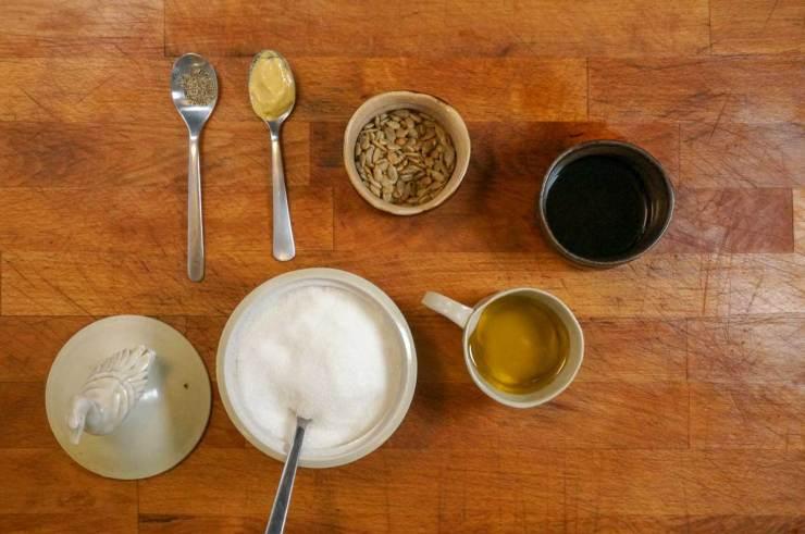 Sunflower Vinaigrette Salad Dressing Ingredients