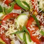 Zucchini Tomato Salad Square Image