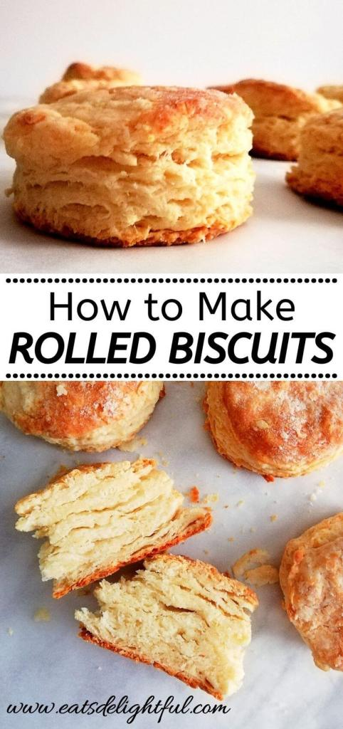 how to make rolled buttermilk biscuits