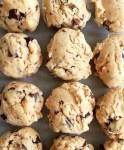 edible cookie dough closeup