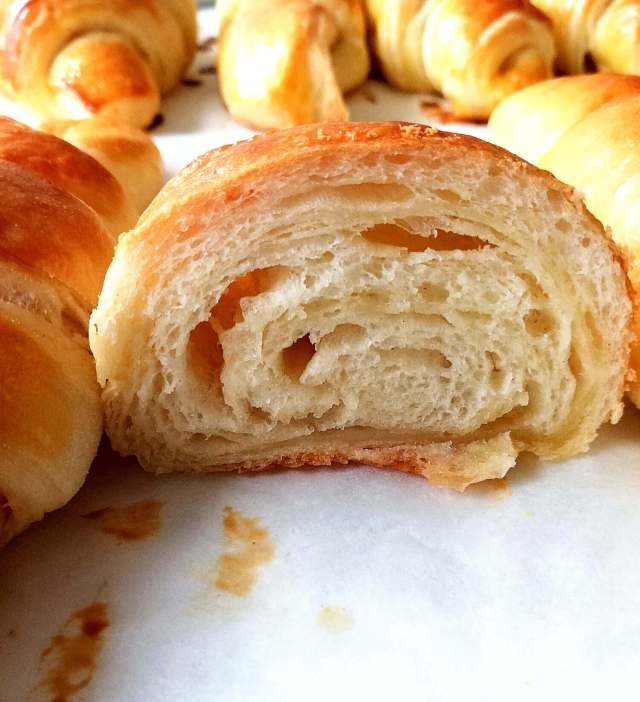 croissant inside view