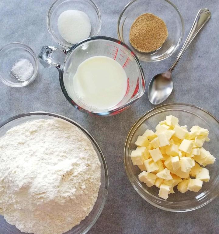 croissants ingredients