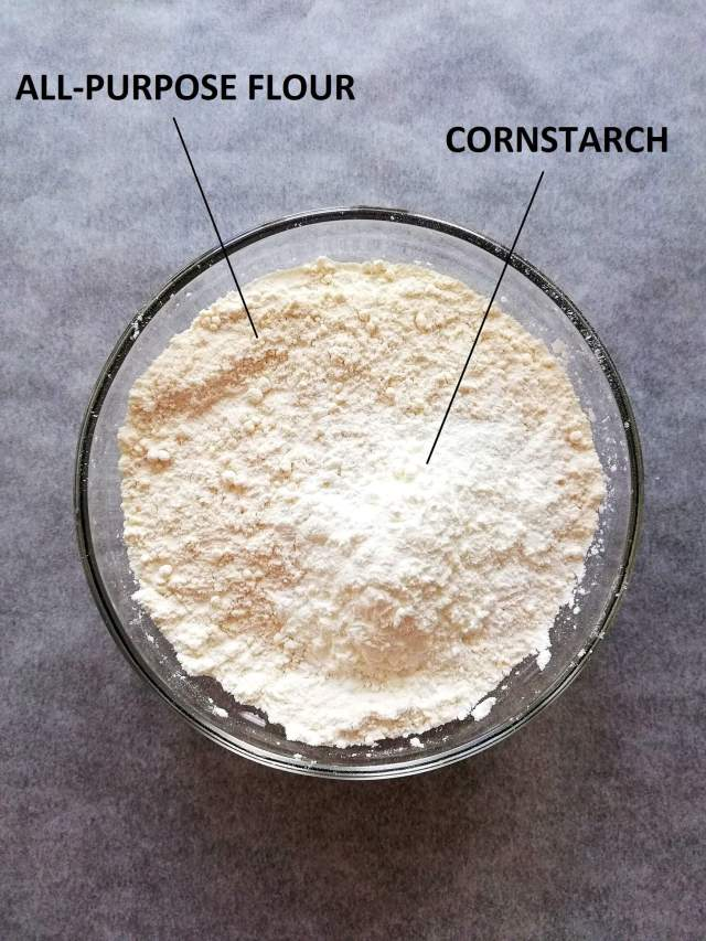 cake and pastry flour - flour and cornstarch