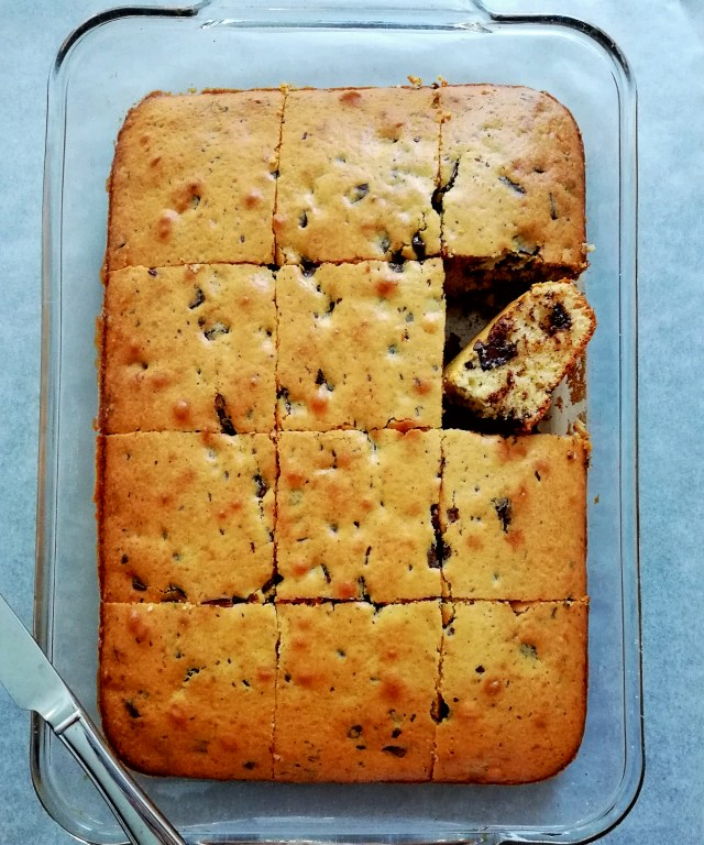 chocolate chip cookie cake overhead (2)