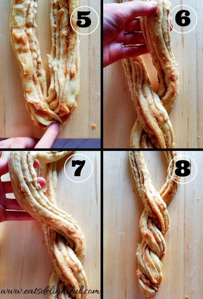 cinnamon swirl wreath bread shaping (2) (1)