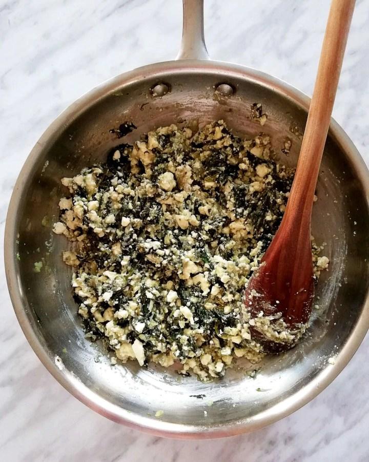 spanakopita spinach and feta filling