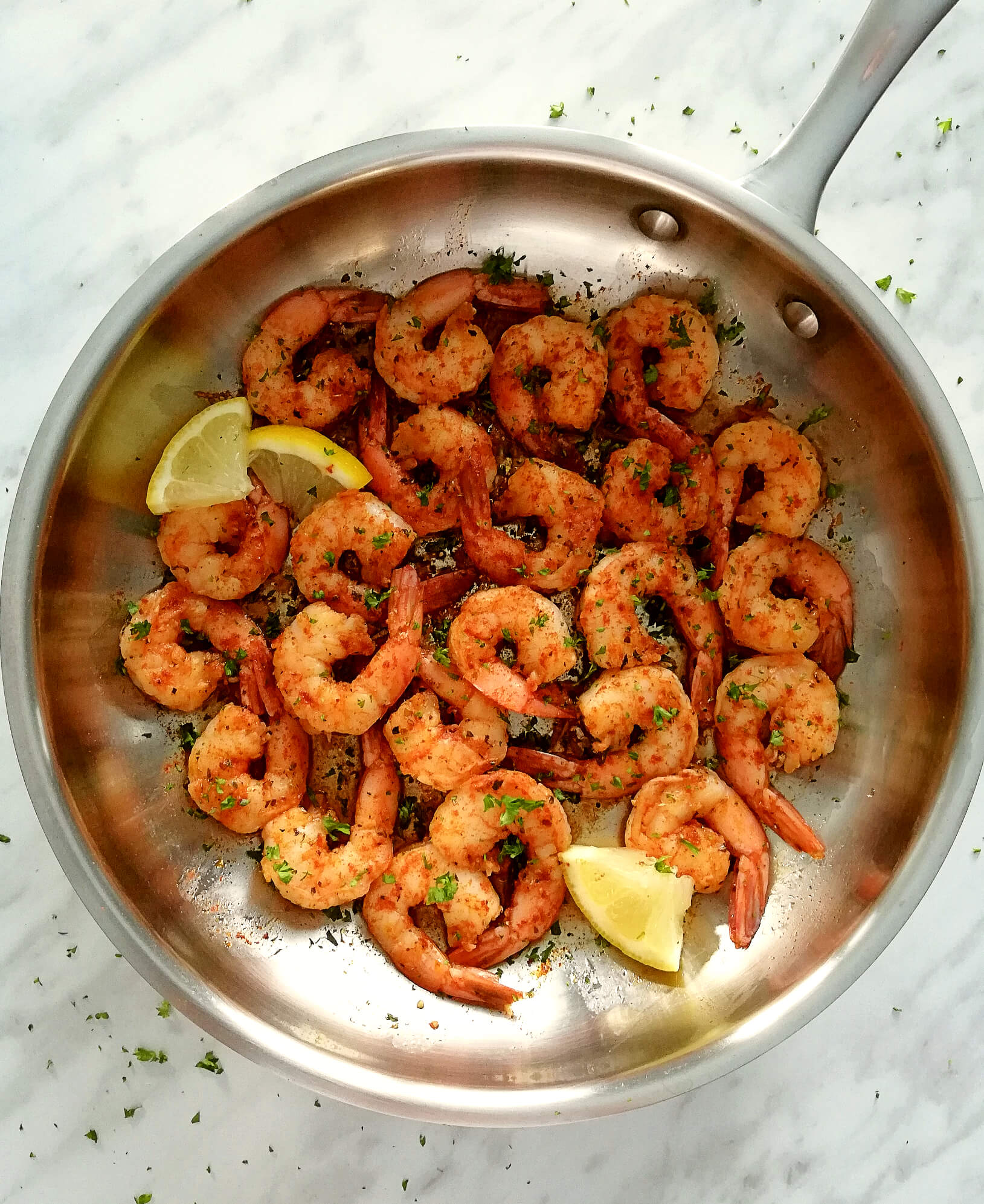 Skillet Spicy Shrimp