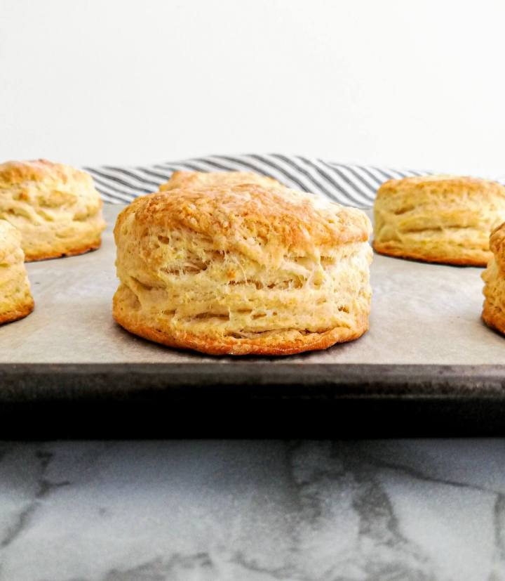 strawberry shortcake baked biscuit