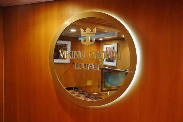 Viking Crown Sign Enchantment of the Seas Review