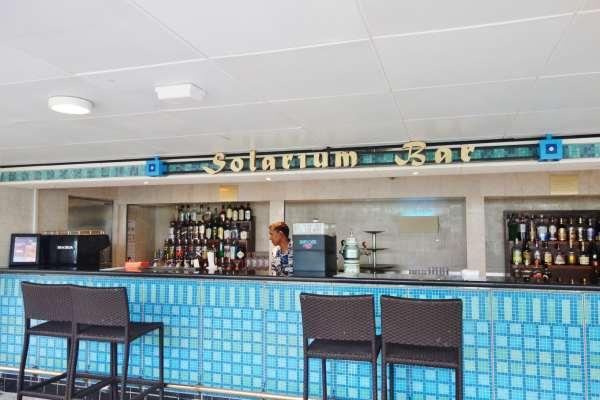 Solarium Bar Enchantment of the Seas Review