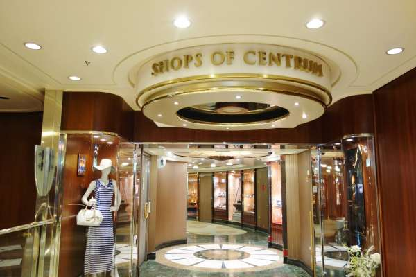 Shops Enchantment of the Seas Review