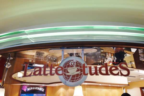 Cafe Lattetude Enchantment of the Seas Review