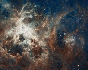 ubble's Panoramic View of a Turbulent Star-making Region