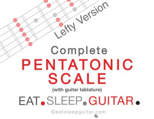 ESG Pentatonic Scale 2016 Lefty
