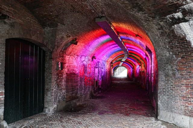 The Ganzenmarkt Tunnel, Utrecht, The Netherlands