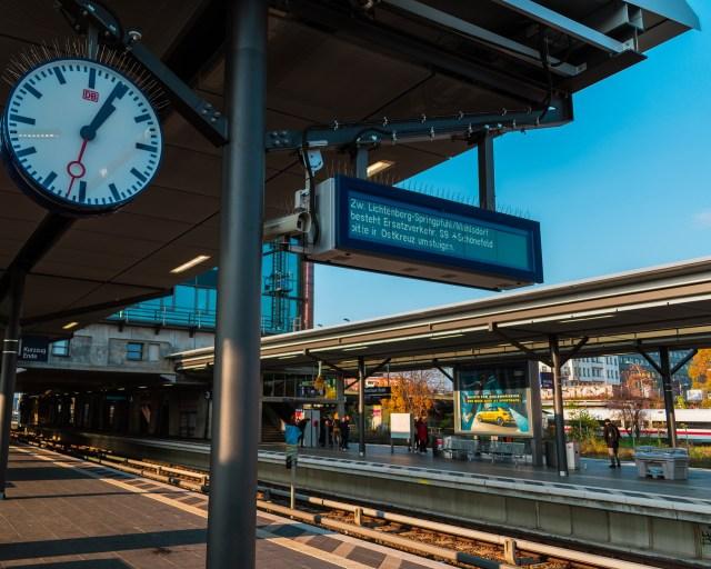 Berlin Train Station, Germany