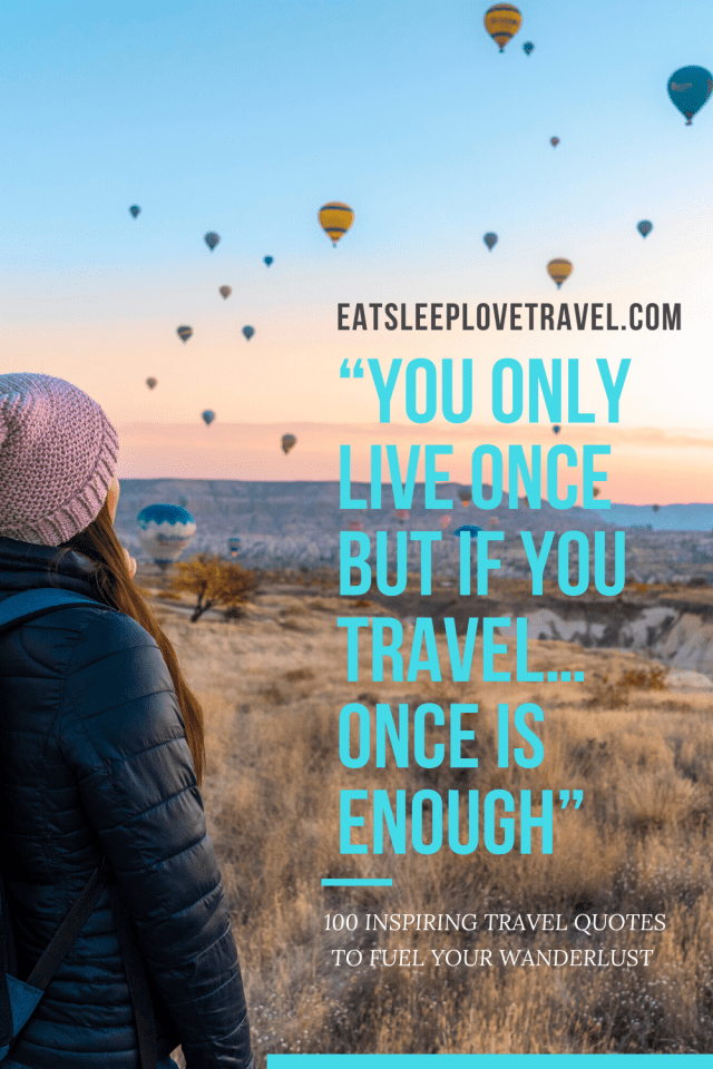 """""""You Only Live Once But If You Travel…Once Is Enough"""""""