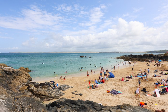 Visiting Cornwall with Kids at the Beach