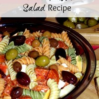 Perfect Pasta Salad Recipe - Great for Holiday Get Togethers