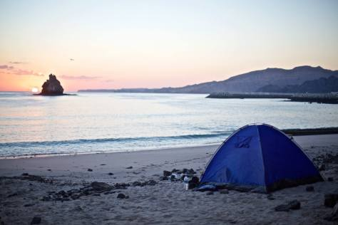 Camping near Muscat - Capital Area Yacht Club Camping