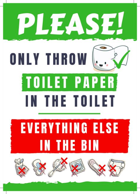 Terrible image pertaining to free printable do not flush signs