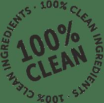 100 percent clean black
