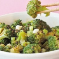 Broccoli Salad, A Korean Banchan