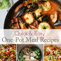 Quick and Easy One-Pot Recipes