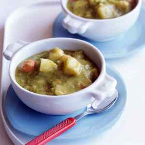 Split Pea Potato Soup
