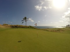 A GoPro shot of my favourite hole at Royal St. Kitts