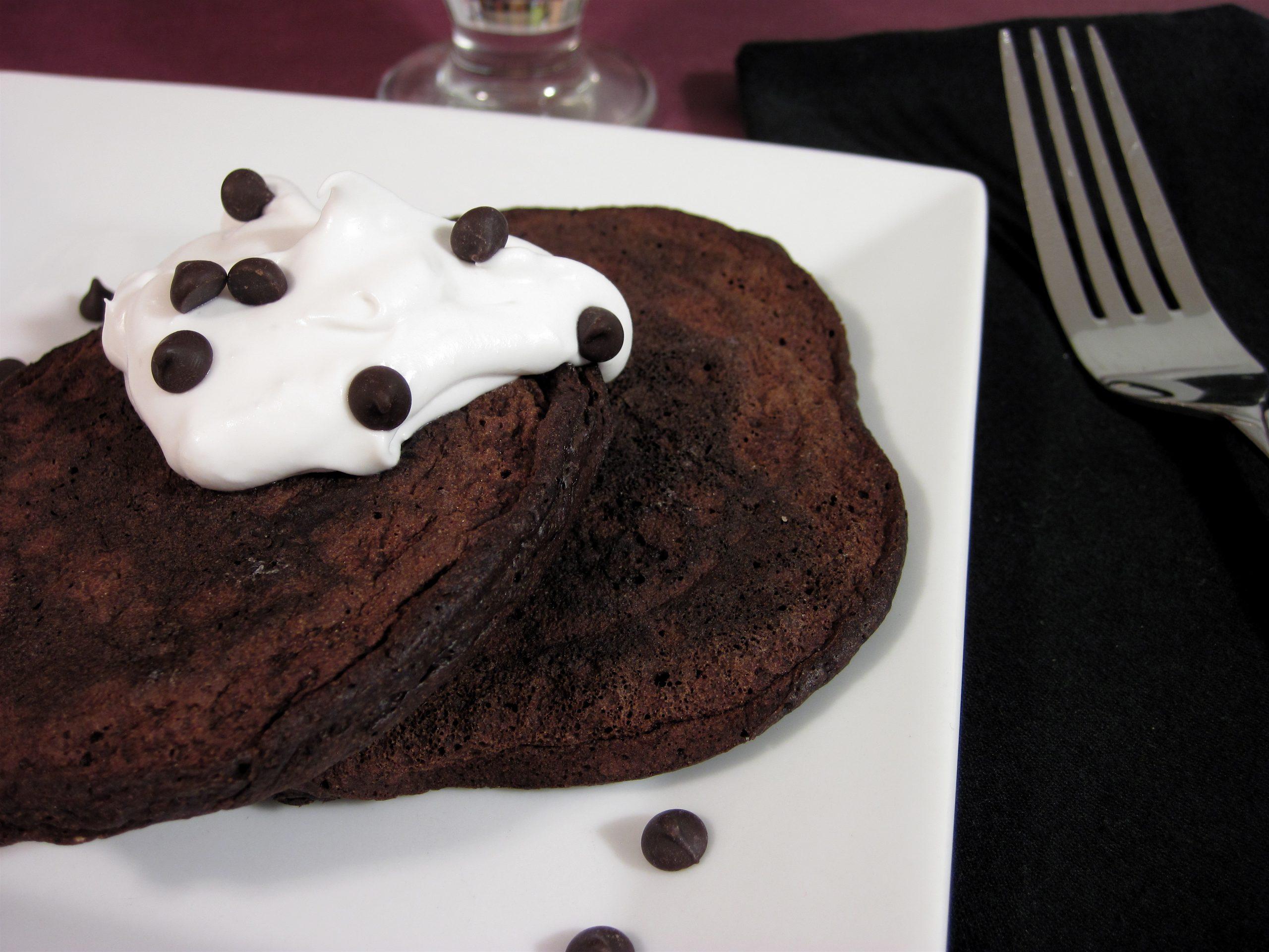 Mocha Bacon Pancakes
