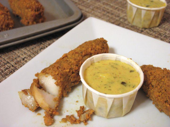 Fish Sticks with Tartar Sauce