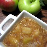 Large Batch Paleo Applesauce | There's nothing like the smell of cooking down apples for applesauce. I love making this in large batches and freezing portions for later. | eatsomethingdelicious.com
