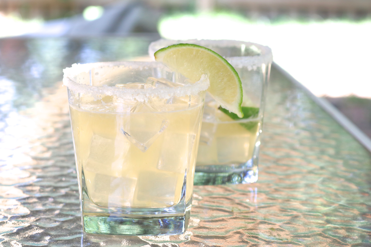 "Grilled Margaritas | The addition of grilled lime juice tones down the ""brightness"" of these margaritas and adds a unique, yet subtle, caramelized/charred flavor. 