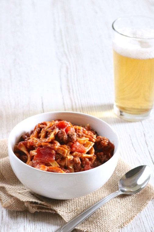 "Goulash | ""American style"" goulash is the ultimate comfort food. Just one pot and 35 minutes is all it takes to make this paleo version of our family favorite. 