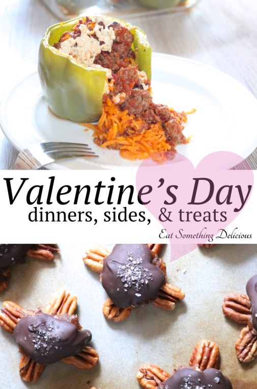 Valentine's Day Recipe Roundup | Paleo dinners, sides, and special treats for the perfect date night. | eatsomethingdelicious.com