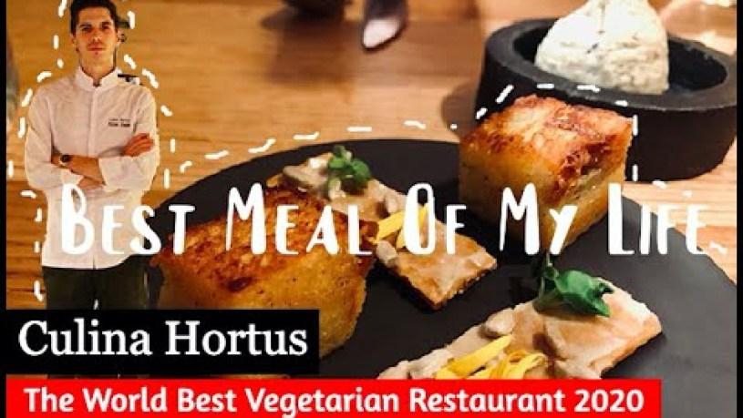 "6 course meal break down at ""Best Vegetarian Restaurant 2020"" [Lyon France] - Culina Hortus"