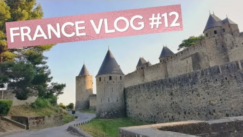 (FRANCE VLOG #12) Toulouse and Carcassonne, France