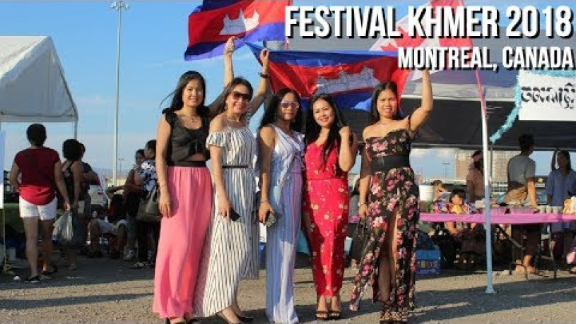 Festival Khmer Cambodian in Canada 2018 Montréal Québec (Laval) 2018-04-08